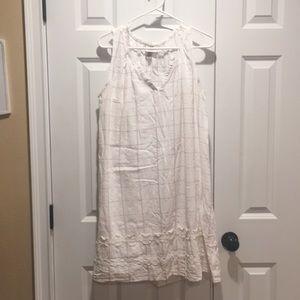 Women's Knox rose linen dress
